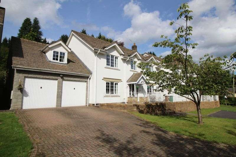 5 Bedrooms Detached House for sale in Draethen, Newport