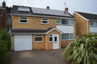 5 Bedrooms Detached House for sale in Johnson Close, Lichfield, Staffordshire