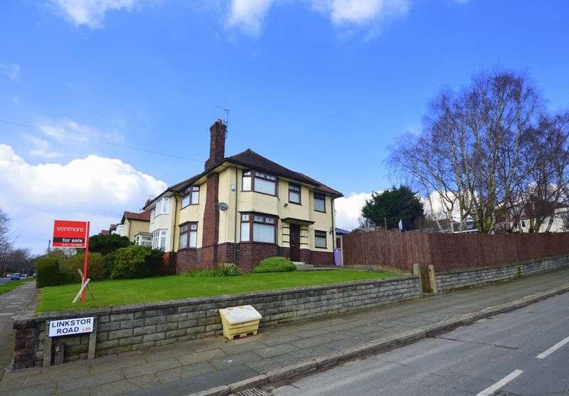 3 Bedrooms Semi Detached House for sale in Linkstor Road, Woolton Village