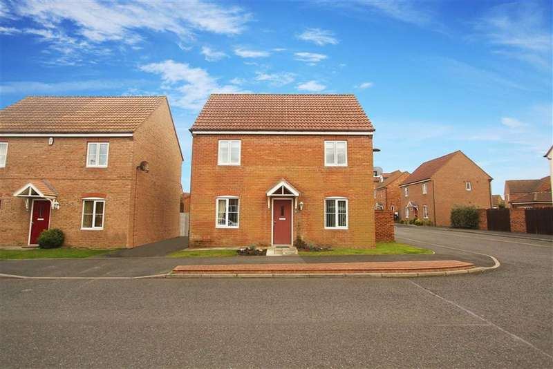 3 Bedrooms Detached House for sale in Heathfield, West Allotment, Tyne And Wear