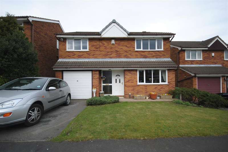 4 Bedrooms Property for sale in Corfe Close, Aspull, Wigan