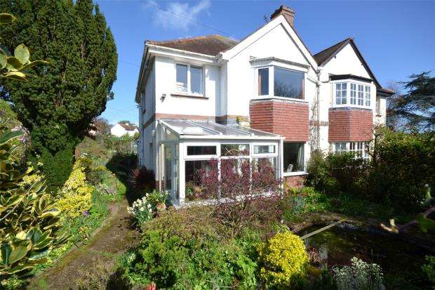 3 Bedrooms Semi Detached House for sale in East Budleigh Road, Budleigh Salterton, Devon