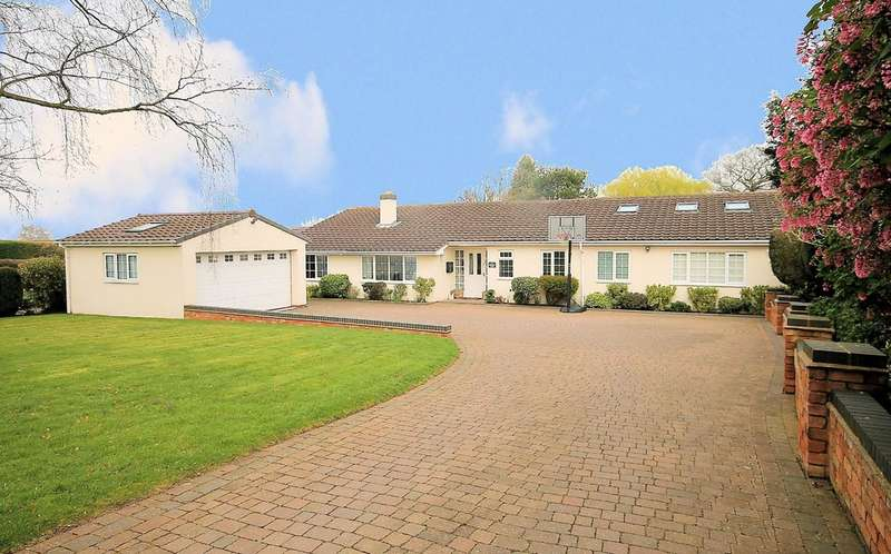 5 Bedrooms Detached Bungalow for sale in Gillway Lane, Tamworth, B79 8PN