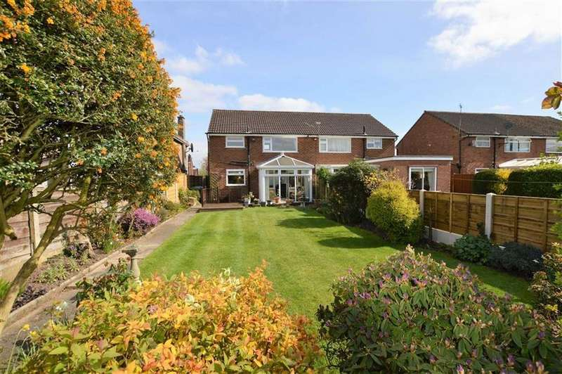 3 Bedrooms Semi Detached House for sale in Briony Avenue, Hale, Cheshire, WA15