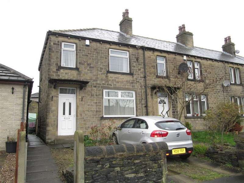 3 Bedrooms End Of Terrace House for sale in Reinwood Road, Quarmby, Huddersfield, HD3