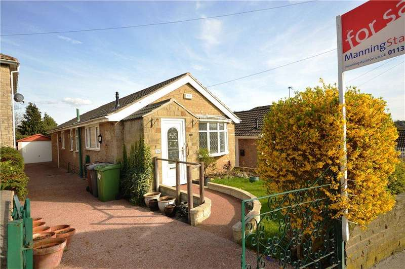 2 Bedrooms Detached Bungalow for sale in Woodhall Drive, Kirkstall, Leeds