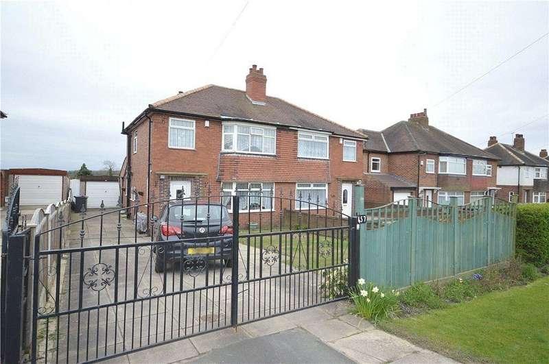 3 Bedrooms Semi Detached House for sale in Leeds Road, Scholes, Leeds