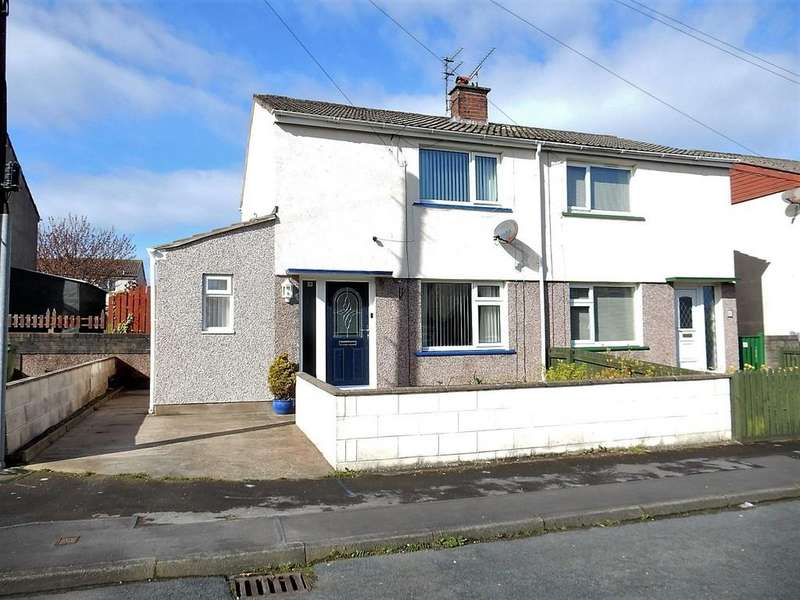 2 Bedrooms Semi Detached House for sale in Abbey Close, Workington