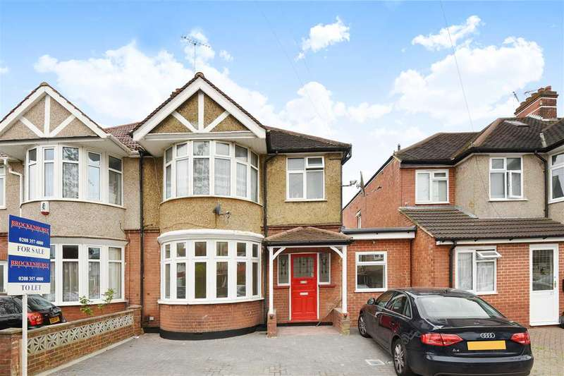 3 Bedrooms Maisonette Flat for sale in Rusland Park Road, Harrow