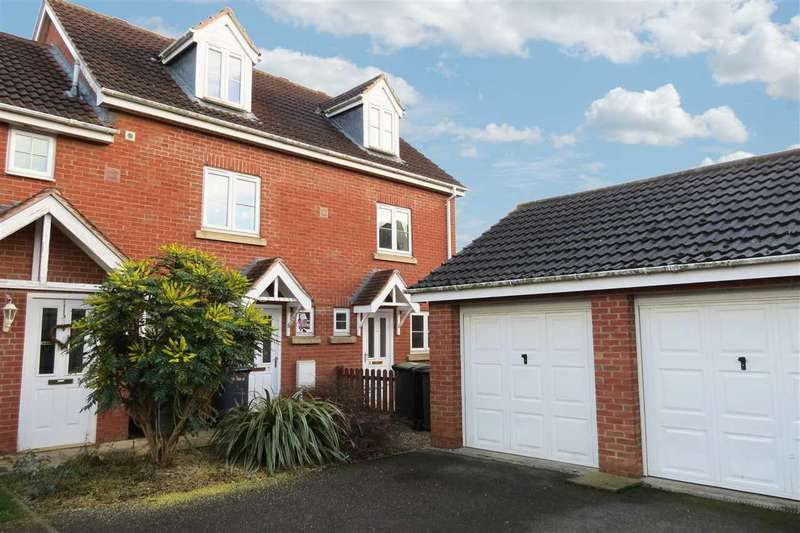 3 Bedrooms End Of Terrace House for sale in Wheat Grove, Sleaford