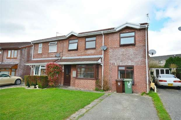 4 Bedrooms Semi Detached House for sale in Heol Tasker, Nelson, TREHARRIS, Caerphilly