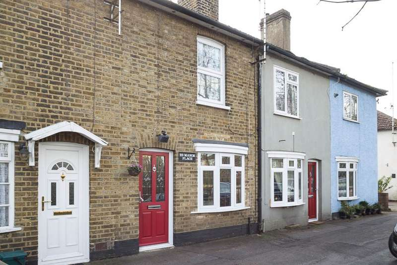 2 Bedrooms Terraced House for sale in Manor Place, Staines-upon-Thames, TW18