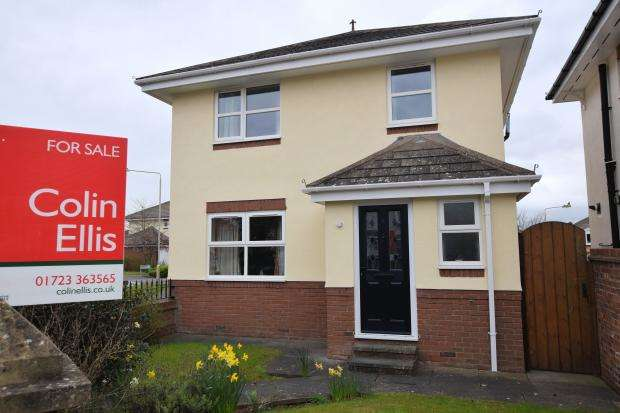 3 Bedrooms Detached House for sale in Green Howards Drive, Scarborough, North Yorkshire YO12 6PE