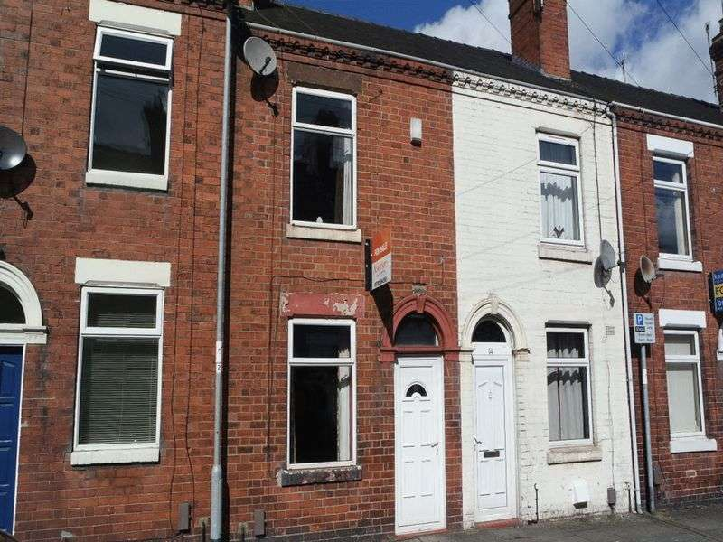 2 Bedrooms Terraced House for sale in Hines Street, Heron Cross, Stoke-On-Trent, ST4 3AT