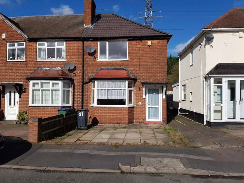 2 Bedrooms Semi Detached House for sale in 2 Bedroom extended semi detached house for sale West Bromwich