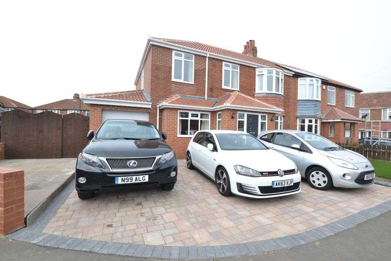 5 Bedrooms Semi Detached House for sale in Gretton Place, Newcastle Upon Tyne