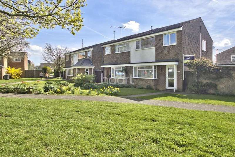 3 Bedrooms Semi Detached House for sale in Copthorne Close, Oakley
