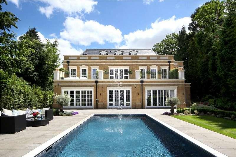7 Bedrooms Detached House for sale in Old Avenue, St. George's Hill, Weybridge, Surrey, KT13