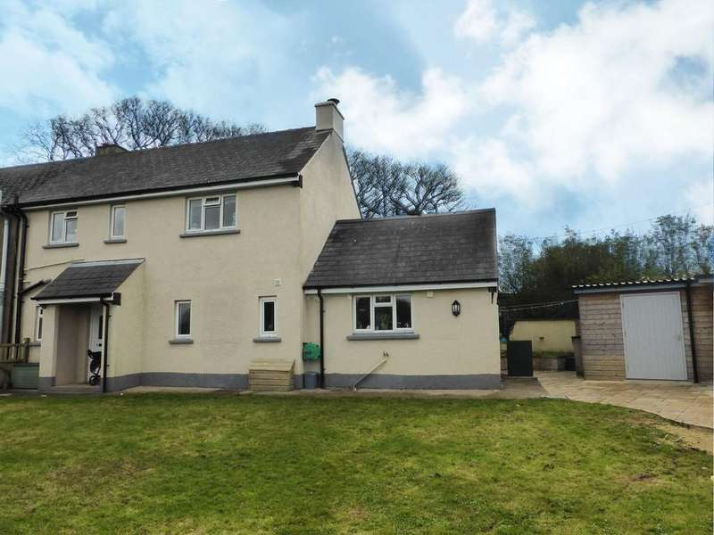 3 Bedrooms Semi Detached House for sale in Hatherleigh