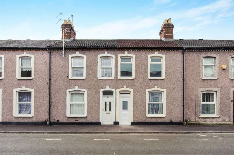 2 Bedrooms Terraced House for sale in Chancery Lane, Cardiff