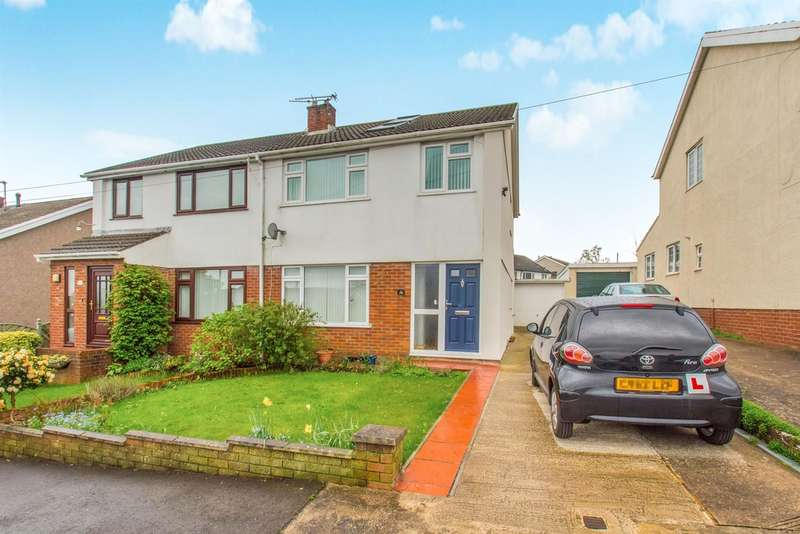4 Bedrooms Semi Detached House for sale in Southgate Avenue, Llantrisant, Pontyclun