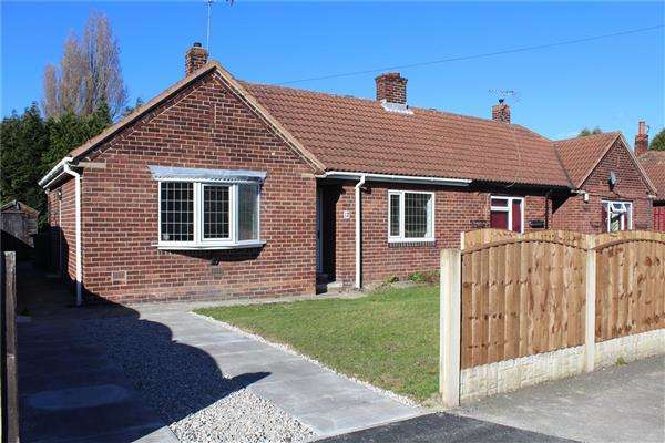 2 Bedrooms Semi Detached Bungalow for sale in Briar Bank, Kinsley