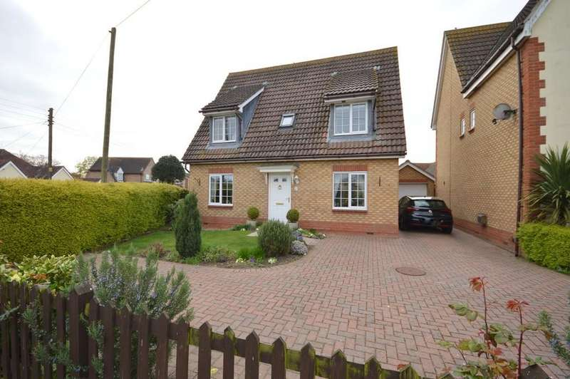 4 Bedrooms Detached House for sale in Hazel Close, Thorrington