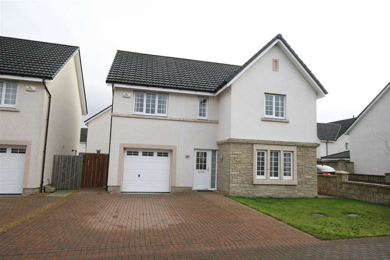 4 Bedrooms Detached House for sale in Galbraith Crescent, Larbert