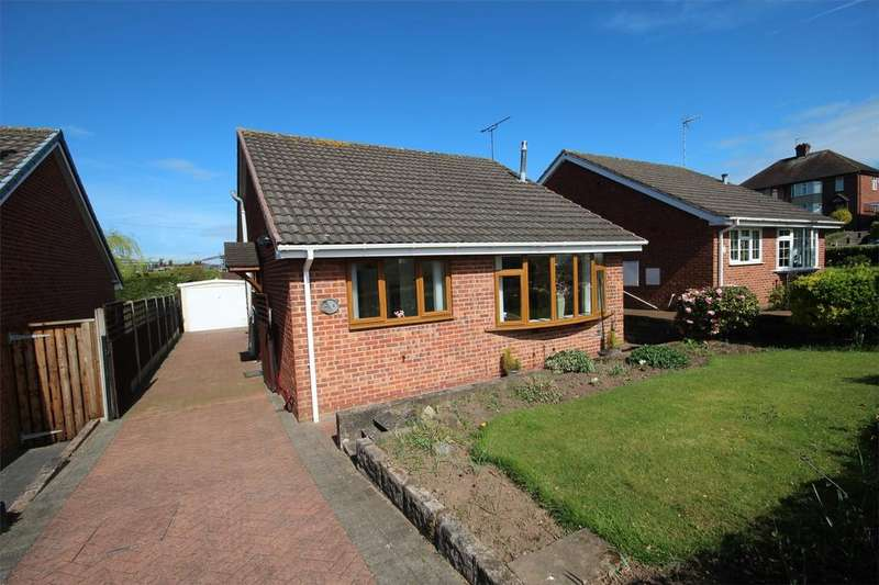 2 Bedrooms Detached Bungalow for sale in Willow Close, Tean, Staffordshire