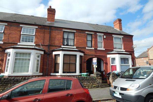 2 Bedrooms Terraced House for sale in Leslie Road, Forest Fields, Nottingham, NG7