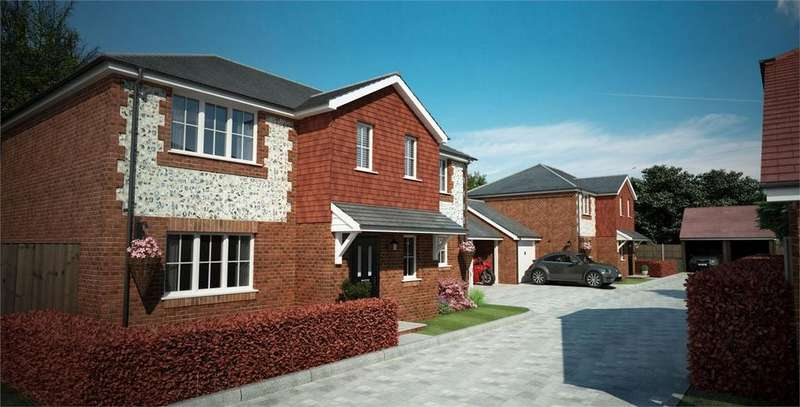 4 Bedrooms Detached House for sale in Wadebridge View, Cotswold Close, Gloucester Close, Four Marks, Hampshire