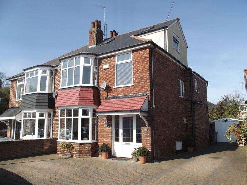 4 Bedrooms Semi Detached House for sale in Palmer Avenue, Willerby