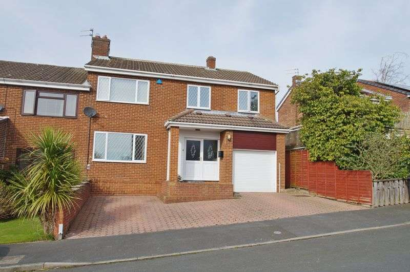 4 Bedrooms Semi Detached House for sale in Brookside, Witton Gilbert