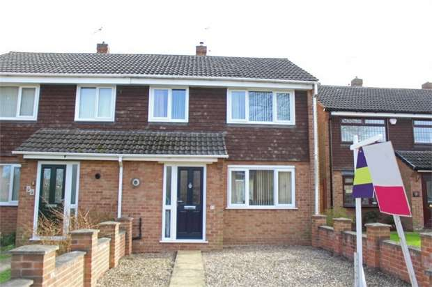 3 Bedrooms Semi Detached House for sale in Arran Close, Sinfin, Derby