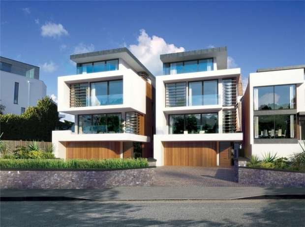 5 Bedrooms Detached House for sale in Whitecliff Road, Whitecliff, Poole, Dorset