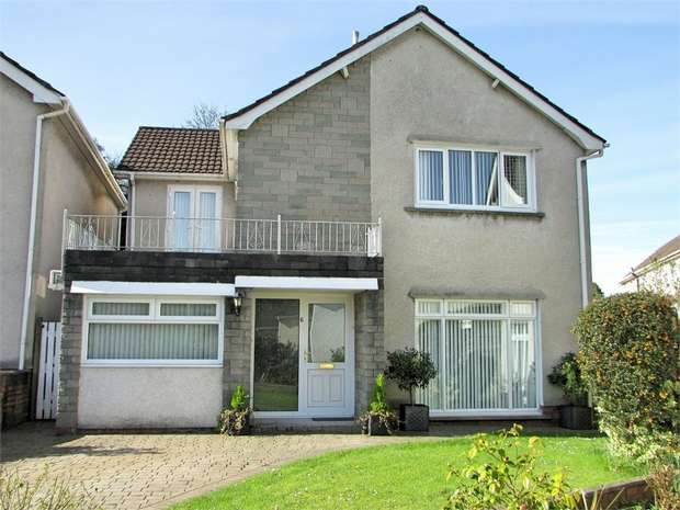 4 Bedrooms Detached House for sale in Trenewydd Rise, Cimla, Neath, West Glamorgan