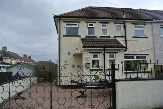 3 Bedrooms Semi Detached House for sale in Ty Gwyn Road, Varteg, PONTYPOOL, Torfaen