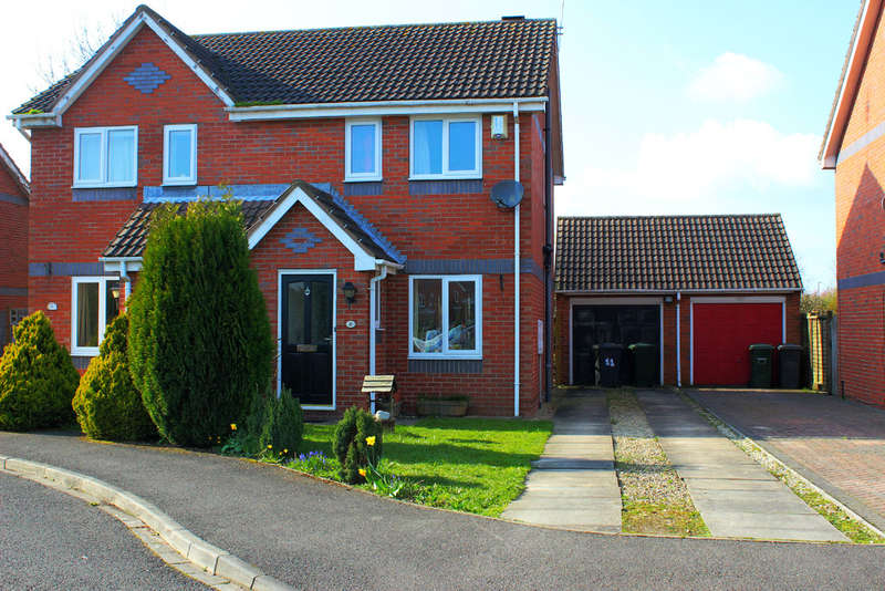 2 Bedrooms Semi Detached House for sale in Woodlands Court, Barlby