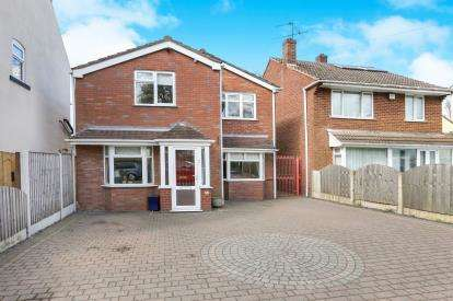 3 Bedrooms Detached House for sale in Prestwood Road West, Wednesfield, Wolverhampton, West Midlands