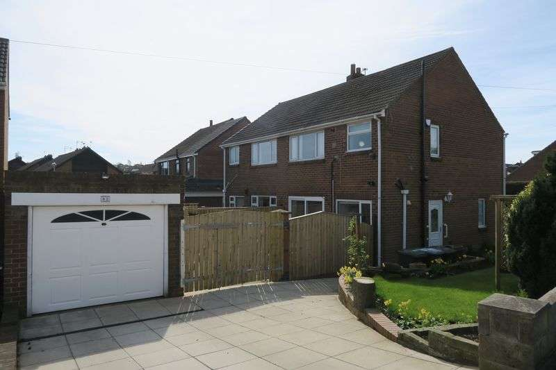 3 Bedrooms Semi Detached House for sale in Kingsway, Drighlington, Bradford