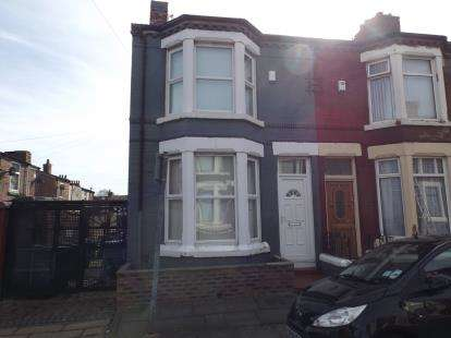 3 Bedrooms End Of Terrace House for sale in Shepston Avenue, Liverpool, Merseyside, L4