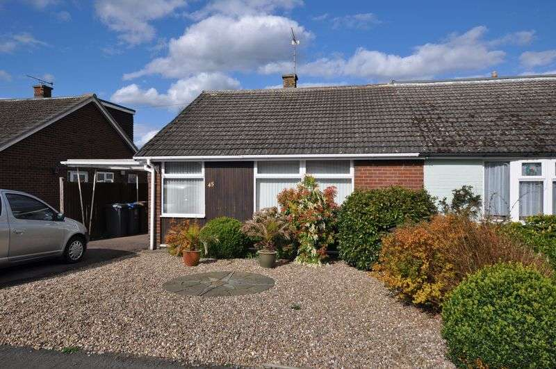 2 Bedrooms Semi Detached Bungalow for sale in Walford Road, Rolleston on Dove