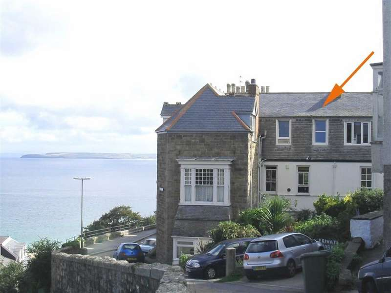 2 Bedrooms Flat for sale in Hazelbury House, Draycott Terrace, St Ives