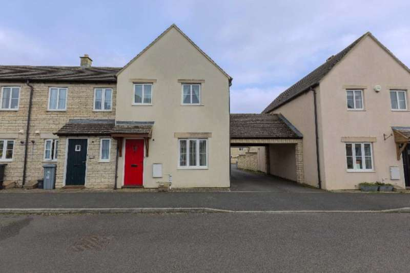3 Bedrooms End Of Terrace House for sale in Woodrush Gardens, Carterton