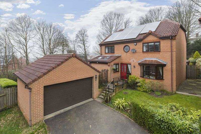 4 Bedrooms Detached House for sale in Silk Mill Mews, Leeds