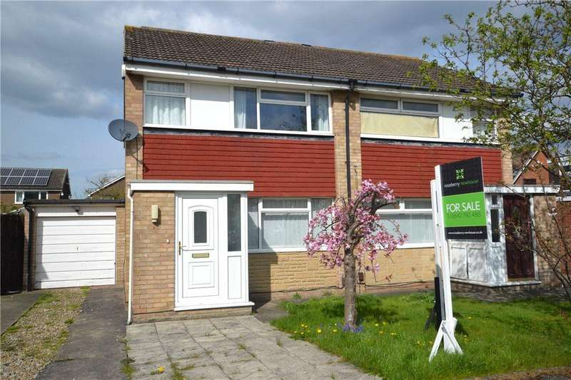 3 Bedrooms Semi Detached House for sale in Angrove Close, Yarm, Stockton-On-Tees