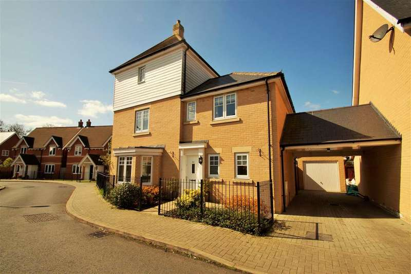 4 Bedrooms Link Detached House for sale in Braeburn Road, Great Horkesley, Colchester