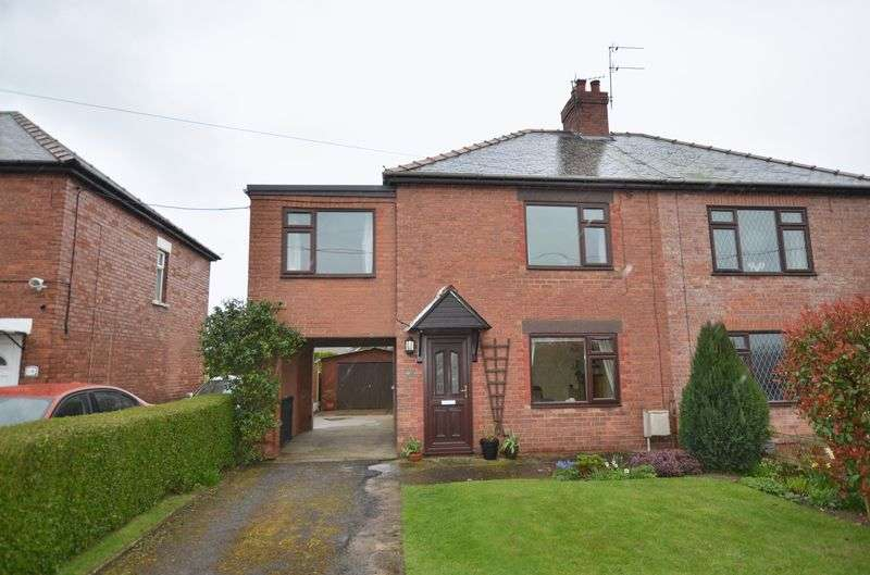 3 Bedrooms Semi Detached House for sale in South View Avenue, Burringham, Scunthorpe