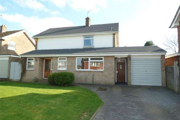 4 Bedrooms Detached House for sale in Windermere Avenue, St Nicolas Park, Nuneaton, Warwickshire