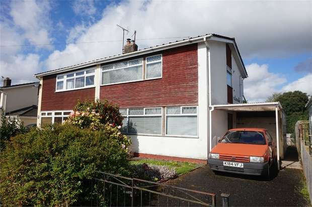 3 Bedrooms Semi Detached House for sale in Belmont Close, ABERGAVENNY, Monmouthshire